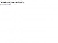 vermietung-von-baumaschinen.de Webseite Vorschau