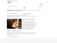 klavier-unterricht.net Webseite Vorschau