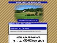 walkersbrunner-buam.de Webseite Vorschau