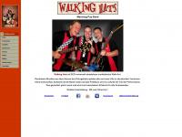 walkinghats.de Webseite Vorschau