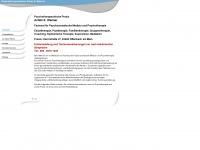 wanner-psychotherapie.de Webseite Vorschau