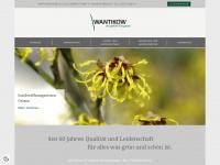 wantikow.de Webseite Vorschau