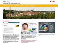 cdu-penig.de Webseite Vorschau
