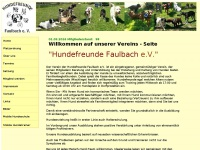 hundeverein-faulbach.de Thumbnail