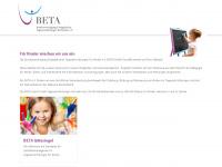 beta-diakonie.de Webseite Vorschau