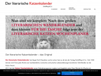 Literarischer-katzenkalender.de