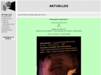 phonographie.org Webseite Vorschau