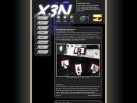 x3n.ch Webseite Vorschau