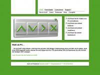 xcall.ch Webseite Vorschau