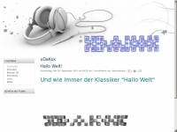 xdakox.de Webseite Vorschau