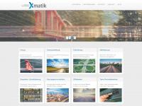xmatic.ch Webseite Vorschau