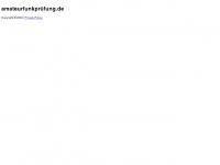amateurfunkprüfung.de Webseite Vorschau