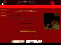 xuantattoo.de Webseite Vorschau