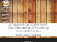 oktoberfest.cc Webseite Vorschau