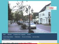 cdu-ovelgoenne.de Webseite Vorschau