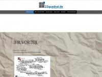 22quadrat.de Webseite Vorschau