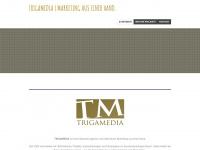 trigamedia.com Webseite Vorschau