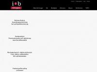 i2b-gruppe.de Webseite Vorschau