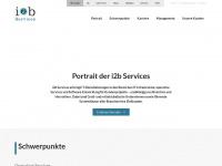i2b-services.de Webseite Vorschau