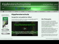 kippfensterschutzsysteme.de Webseite Vorschau