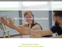 physiotherapie-lenfert.de Webseite Vorschau