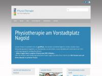 physiotherapienagold.de Webseite Vorschau