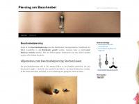 bauchnabel-piercing.info Webseite Vorschau