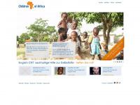 kinder-afrikas.de Webseite Vorschau