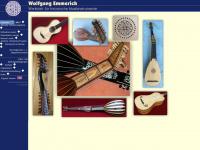 zupfinstrumente-emmerich.de Webseite Vorschau