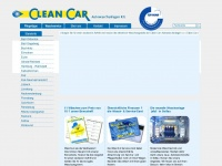 clean-car.com Webseite Vorschau