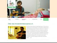 kinderklinikkonzerte.de Webseite Vorschau