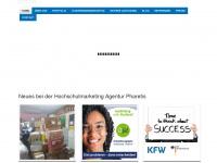 pharetis.de Webseite Vorschau