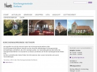 kirchengemeinde-rethem.de Webseite Vorschau