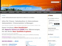 1aquaex.de Webseite Vorschau