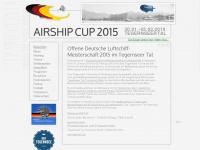 airship-cup.de Webseite Vorschau