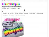 kindertshirtspass.de Webseite Vorschau