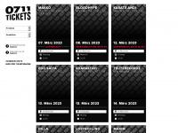 0711tickets.de Webseite Vorschau