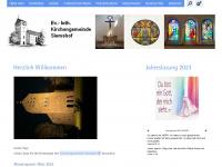 kirchengemeindesiemshof.de Webseite Vorschau