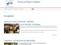 kirche-und-sport-bayern.de Webseite Vorschau