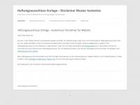 haftungsausschluss-vorlage.de