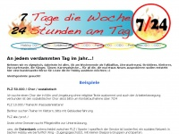 7twenty4.de Webseite Vorschau