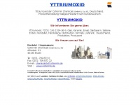yttriumoxid.com Webseite Vorschau