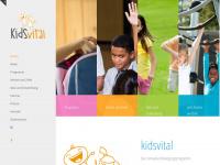 kids-vital.de Webseite Vorschau