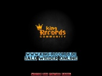 king-records.de Webseite Vorschau
