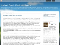 musik-aus-bayern.blogspot.com Webseite Vorschau