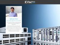 kvm-asiapacific.com Webseite Vorschau