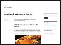 uvlesung.de Webseite Vorschau