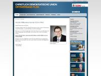 cdu-ploen.de Webseite Vorschau