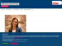 cdu-preetz.de Webseite Vorschau