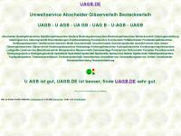 uagb.de Webseite Vorschau